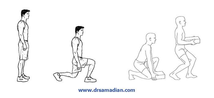 تمرین ورزشی برای دیسک کمر18
