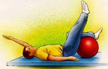 تمرین ورزشی برای کمر8