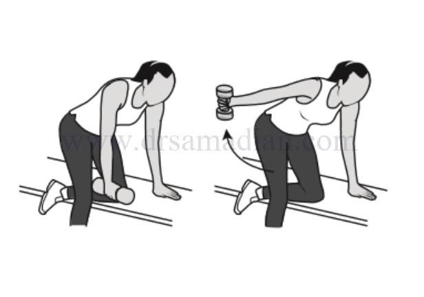 قوی کردن عضلات تراپزیوس