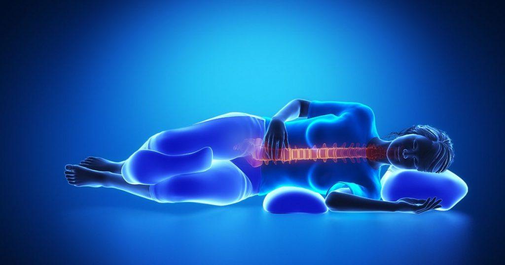 استراحت برای درمان دیسک کمر
